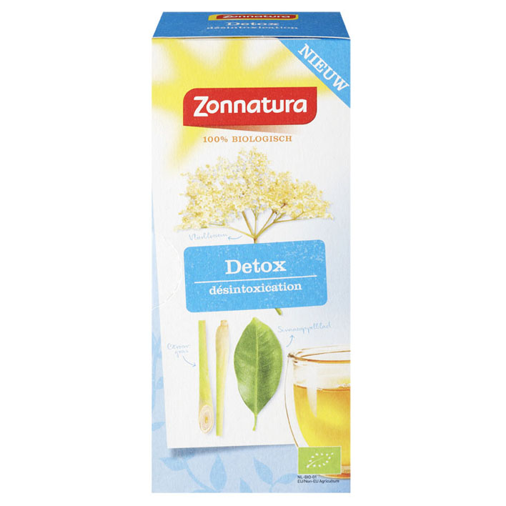 Zonnatura biologische thee detox citroengras 20 for Lampen tedox