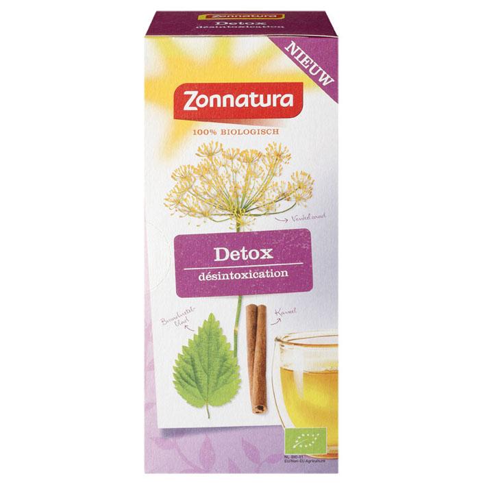 Zonnatura biologische thee detox venkel 20 theezakjes for Lampen tedox